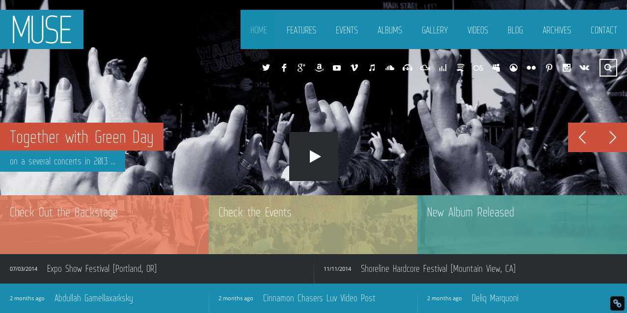Muse WordPress Theme