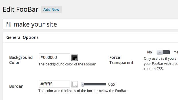 Foobars
