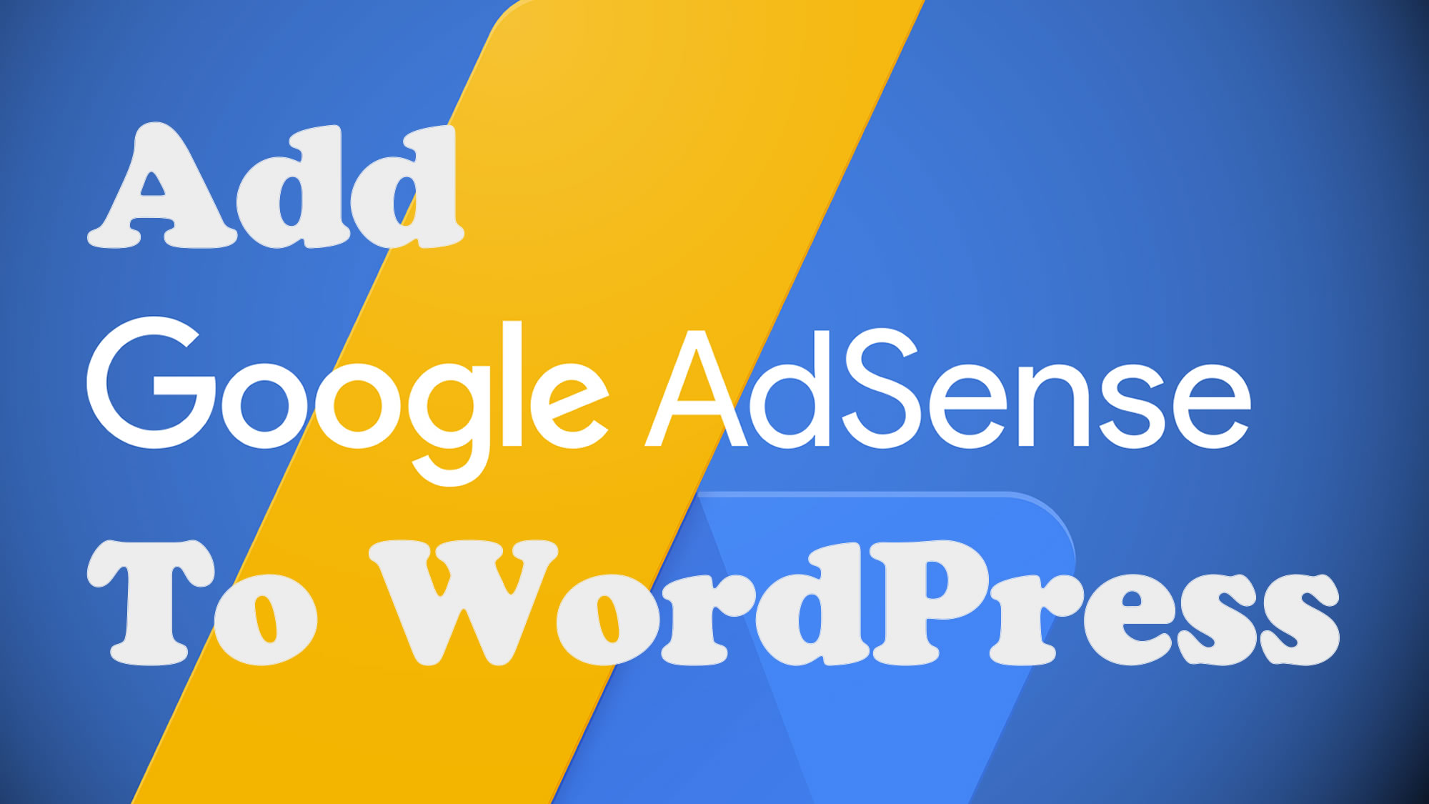 how to add website to google adsense