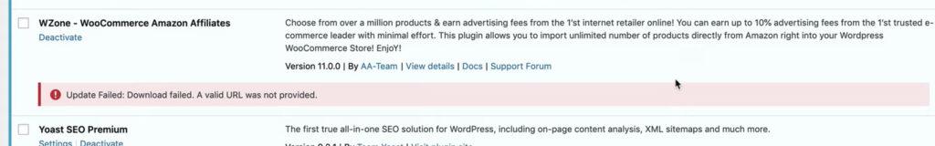 How to Update Woozone (Wzone) - Wordpress Eagle