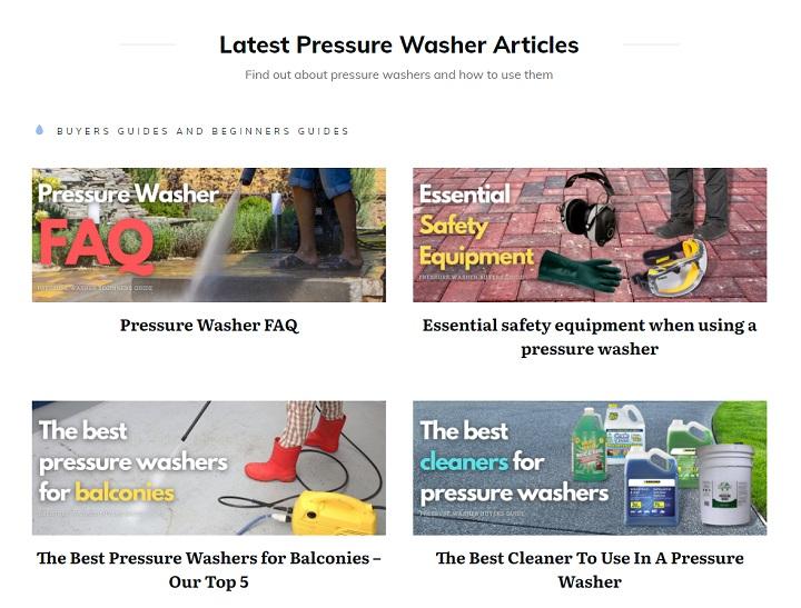 best pressure washer articles