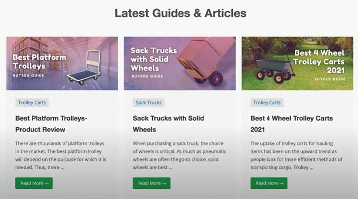niche site wheelong update