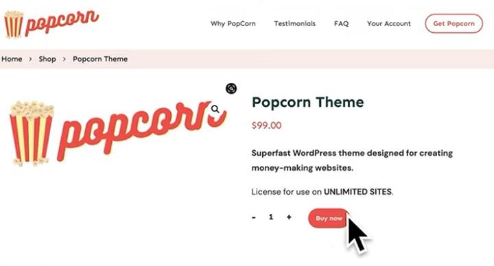 popcorn theme